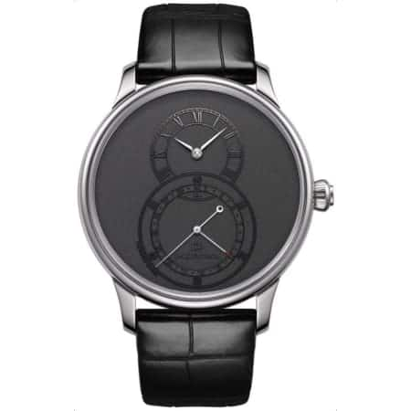 Jaquet Droz Grande Seconde Quantieme 43mm Automatic Watch $3976 + free s/h