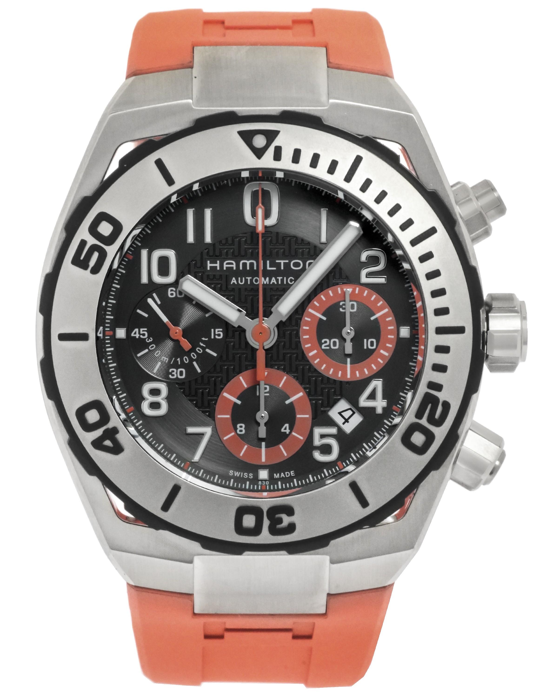 Hamilton Khaki Navy Automatic Chronograph Watch $595 + free s/h