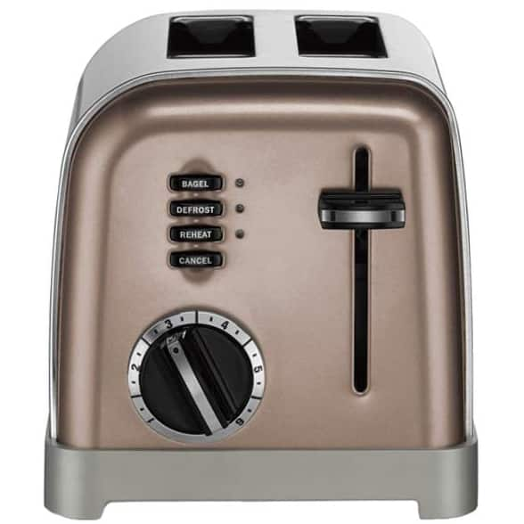 Cuisinart CPT-160 Metal Classic 2-Slice Toaster $33 + free s/h