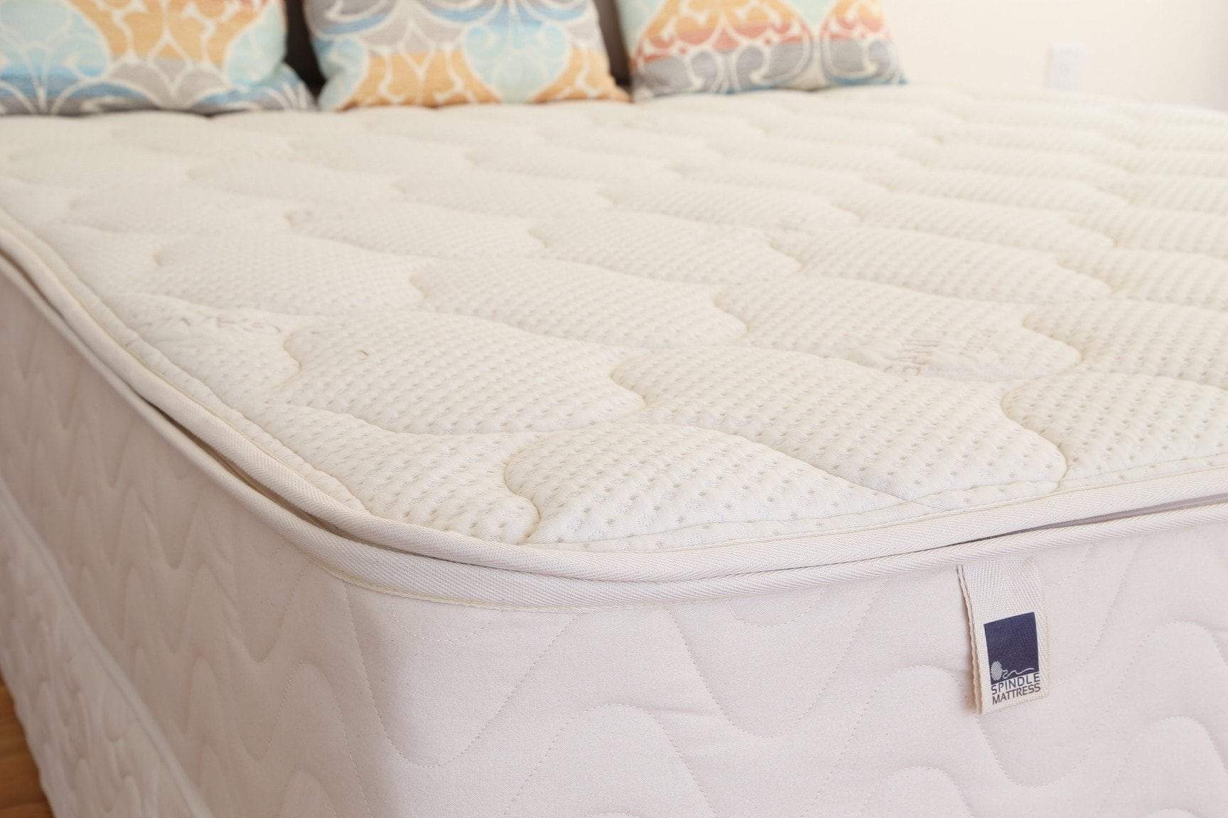 """10"""" Spindle 100% Natural Latex Mattress: King $1500, Queen $1200 + Free Shipping"""