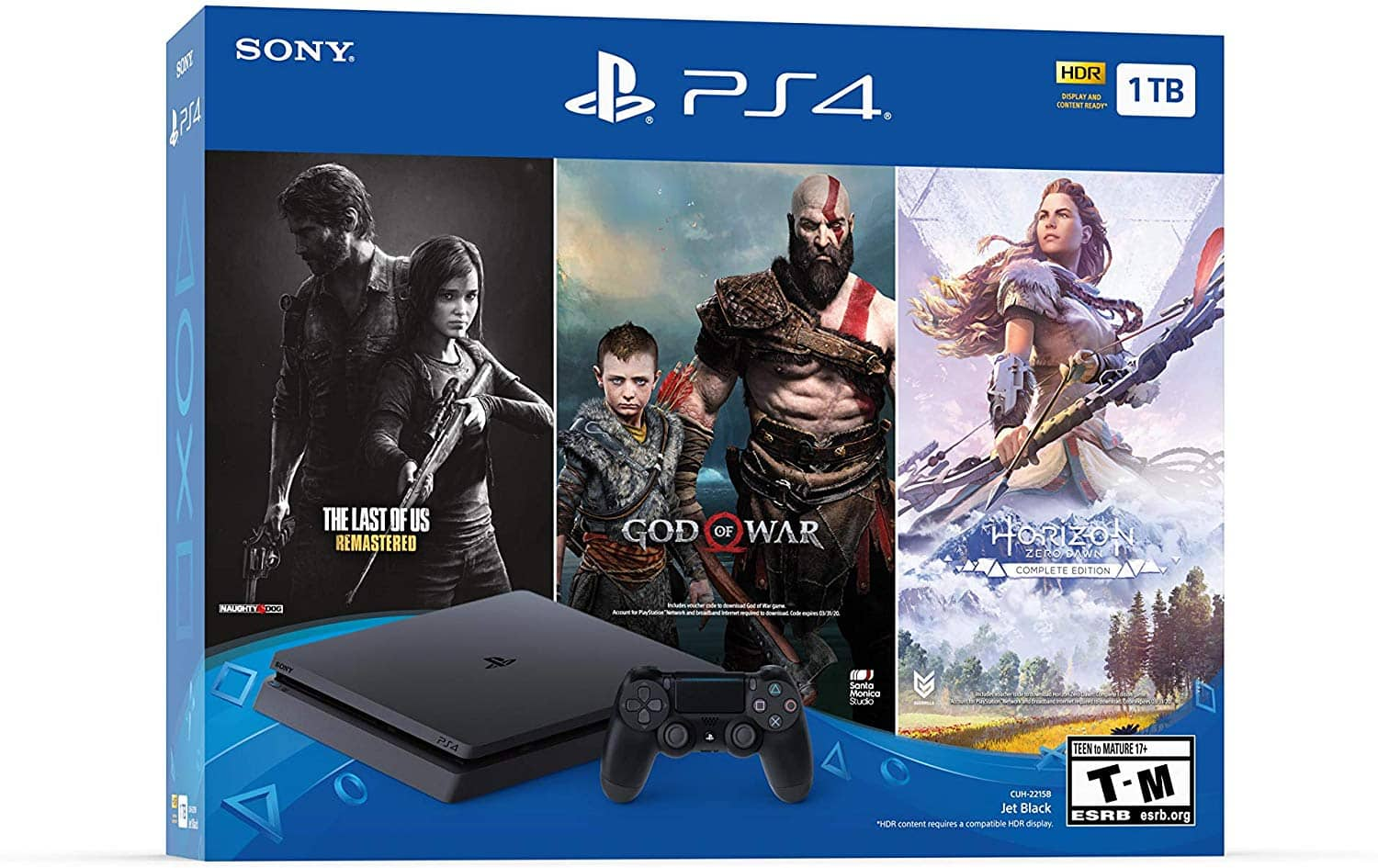 (B&H) Sony PS4 4  The Last of Us: Remastered, God of War & Horizon Zero Dawn: Complete Edition $200 + free s/h