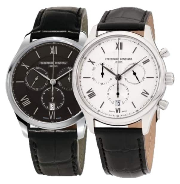 Frederique Constant Classics Chronograph Watch $298 each + free s/h
