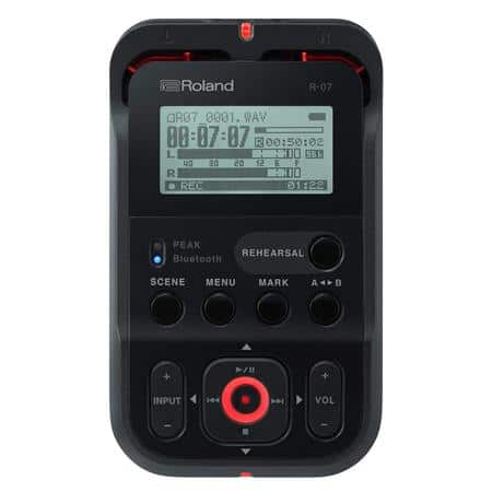 Roland R-07 Portable High-Resolution Audio Recorder $100 + free s/h