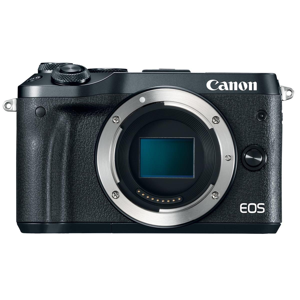 Canon M6 Camera: Body $300, w/ EF-M 15-45mm Lens $400, or w/ EF-M 18-150mm Lens $500 + Free s/h