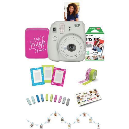 Fujifilm INSTAX Mini 9 w/ Mini Rainbow Instant Film (10 Exposures) & $10 B&H Gift Card $50 + free s/h