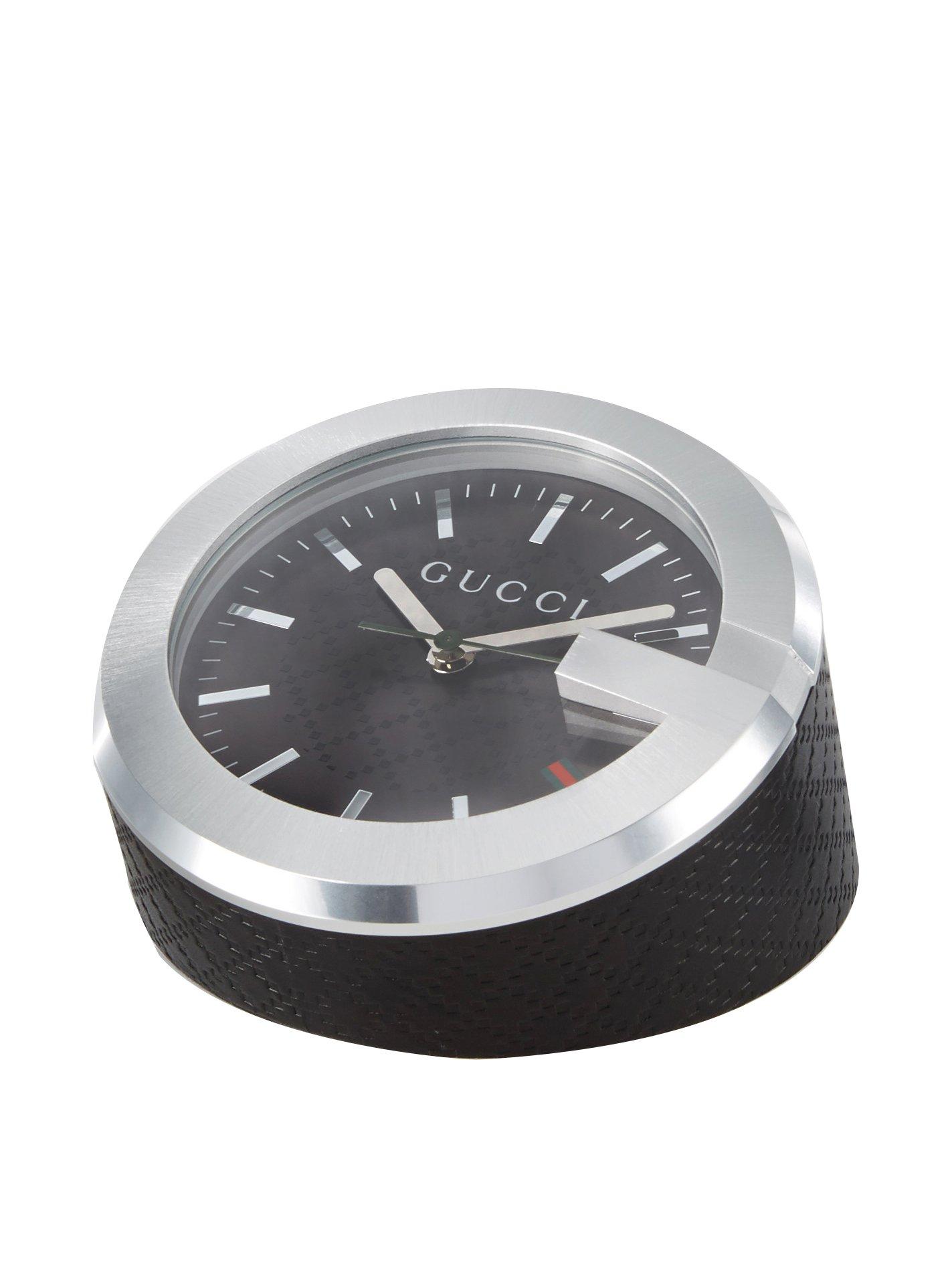 GUCCI Black Diamond Table Clock $99 + free s/h