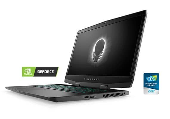 "Alienware m17 Gaming Laptop 17"" 4K, i7 9750H,16GB RAM, 512GB SSD,RTX 2060 $1300 + free s/h"