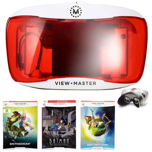 Mattel View-Master Deluxe VR Viewer: w/ Three Assorted View-Master Experience Packs $19, Teenage Ninja Turtle Viewer & Ninja Turtle Experience Pack $23