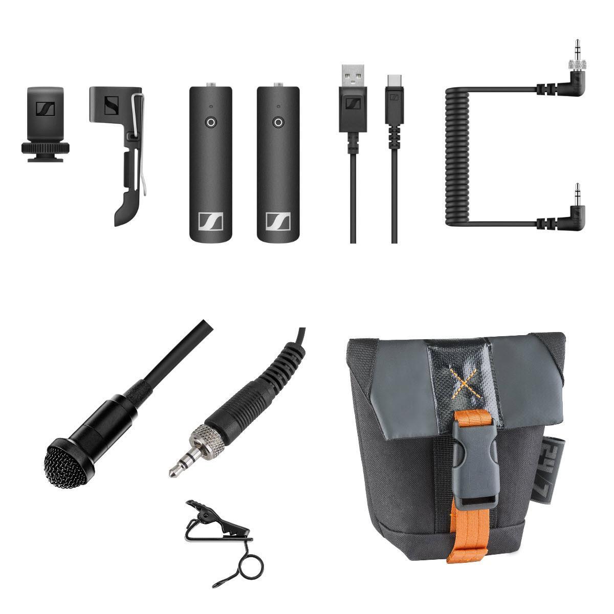 Sennheiser XSW-D Wireless Base Set + Pro Omni Lavaliar Mic + Pouch Bag $179 + free s/h