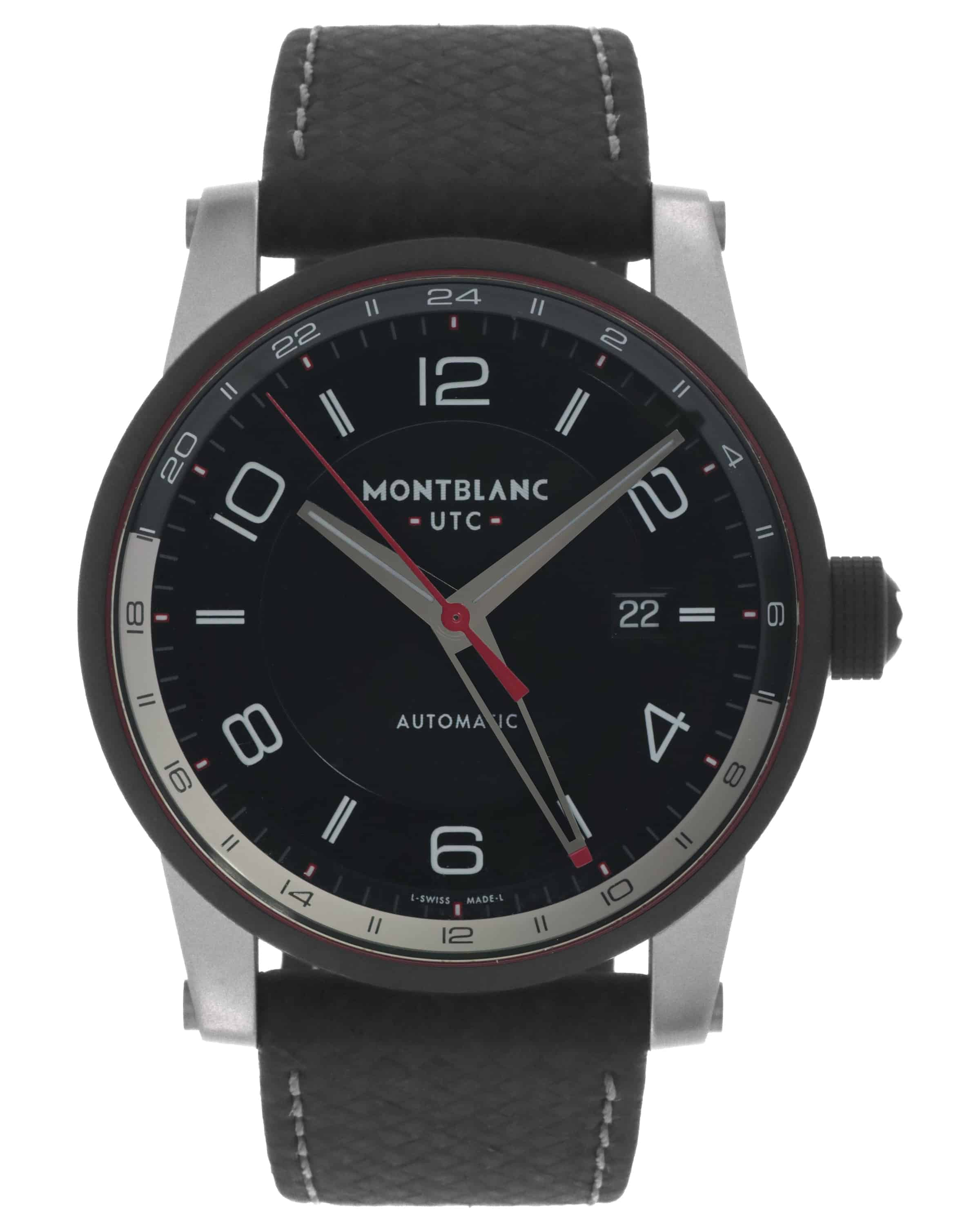 Montblanc Timewalker GMT Automatic Watch $1095 + free s/h