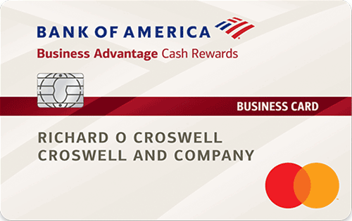 Bank of America® Business Advantage Cash Rewards Mastercard® credit card: Get a $300 statement credit when you spend at least $3,000 within first 90 days of account opening