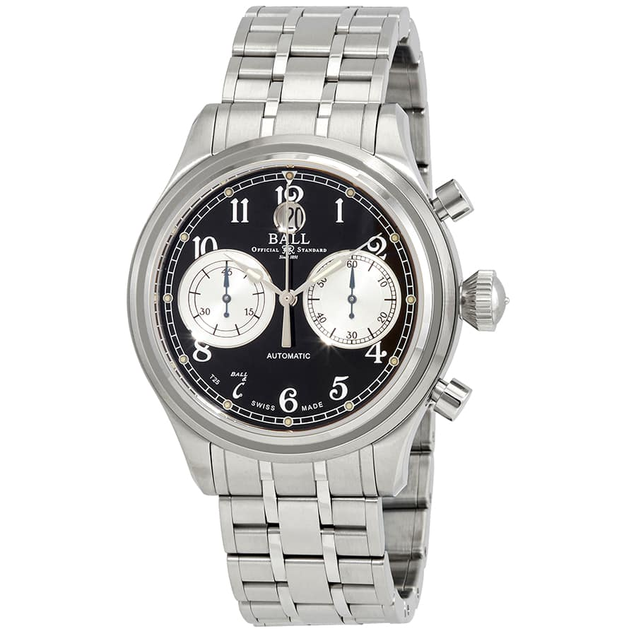 BALL Trainmaster Cannonball Automatic Chronograph Watch $1195 each + free s/h