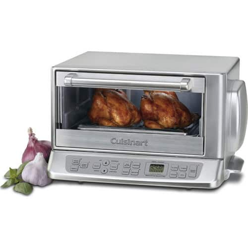 Cuisinart TOB-195 Exact Heat Toaster Oven Broiler $129 + free s/h
