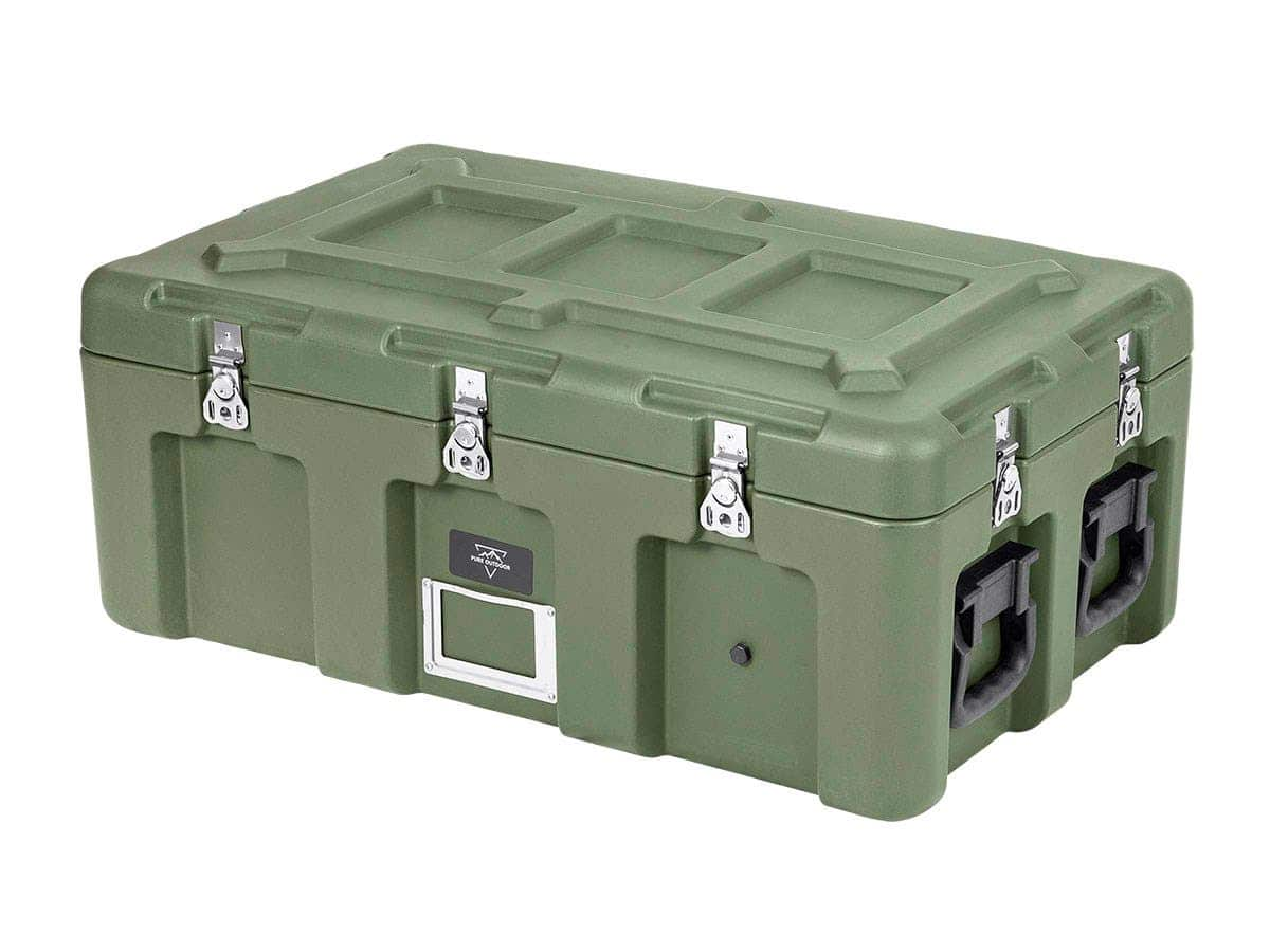 """Pure Outdoor by Monoprice Stackable Rotomolded Weatherproof Case (32x18x13"""") $127.31 + free s/h"""