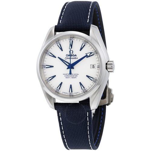 Omega Watches: Seamaster Aqua Terra w/ White Dial / Blue Hands $3295 or Seamaster GMT w/ White Dial / Blue Hands $4795 + free s/h