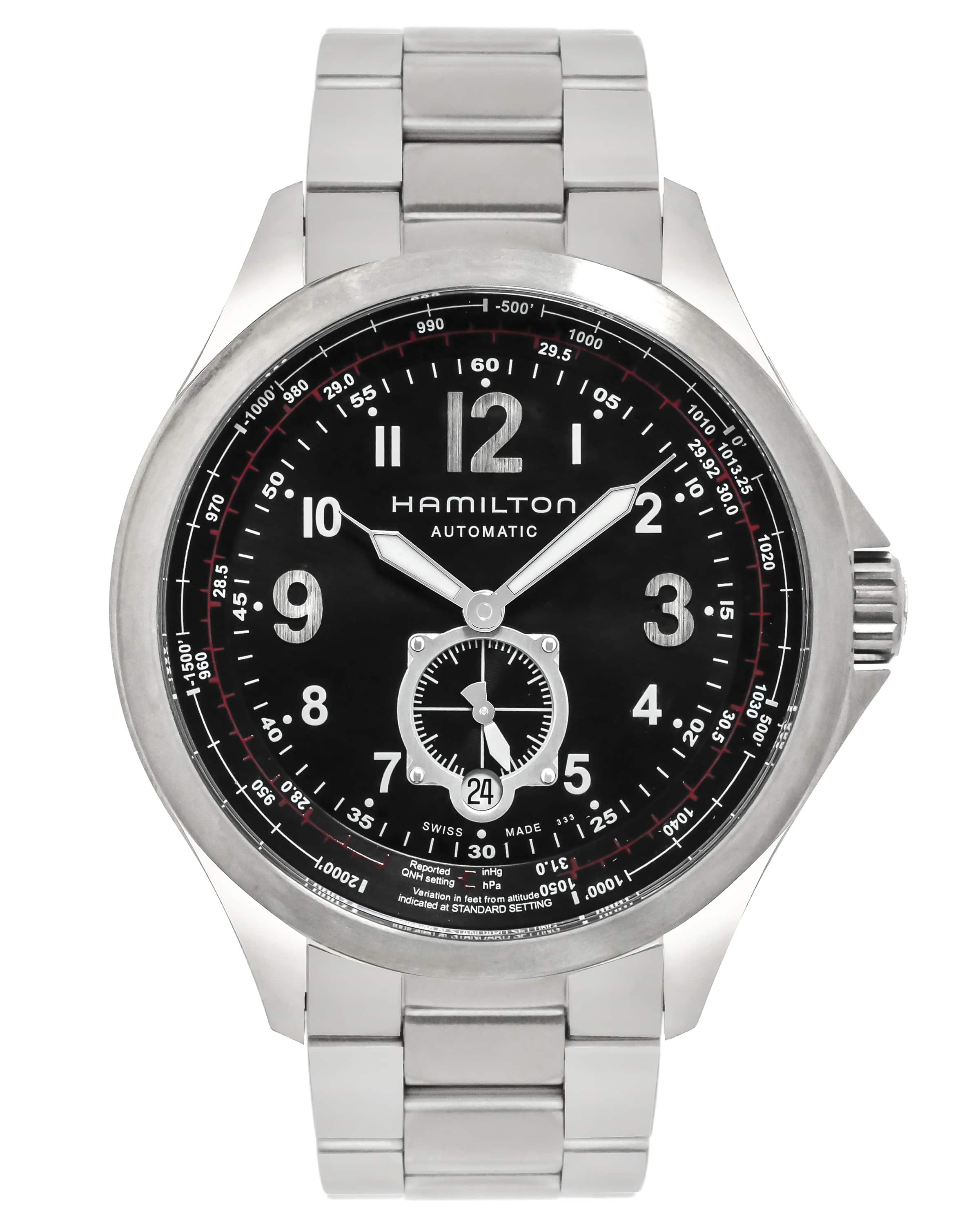 Hamilton Khaki Aviation Automatic Watch w/ Sub Seconds $395 + free s/h