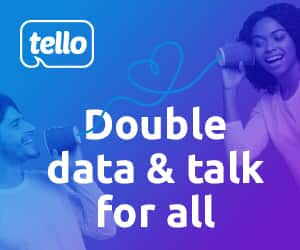 Tello New & Existing Customers: Double Plan Data & Talk Free (Valid until May 29, 2020)