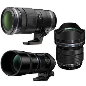 Olympus OM-D E-M1X Camera Body + 7-14mm f2.8 + 40-150mm F2.8 + 300mm F/4.0 Pro Lenses $5797 + free s/h
