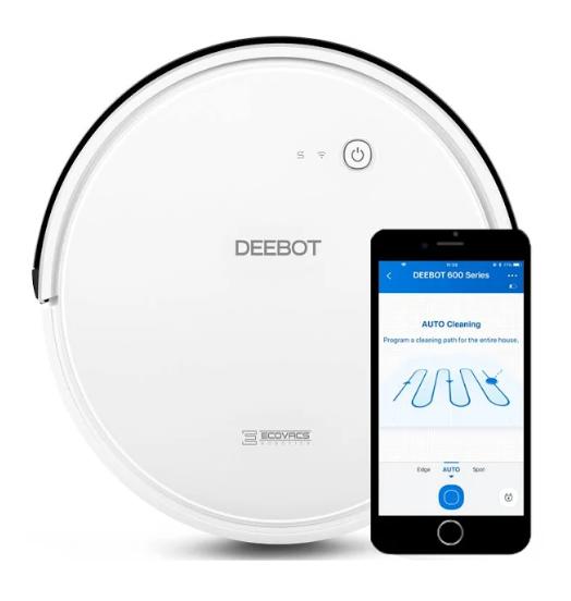 Ecovacs Robotics Deebot 600 Vacuum w/ App Control $160 + free s/h