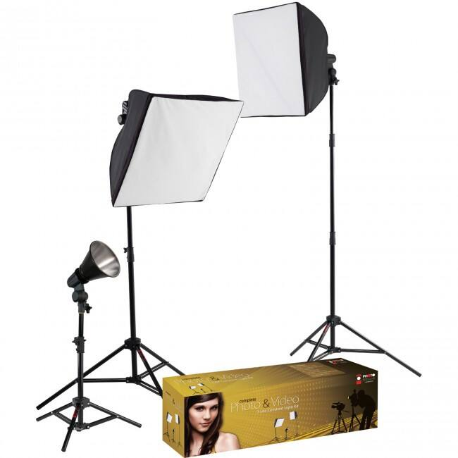 Westcott 403 uLite 3-Light Video Lighting Kit $165 + free s/h