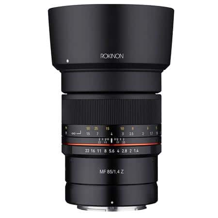 Rokinon 85mm F1.4 UMC (Manual Focus Lens for Nikon Z) $239 + free s/h