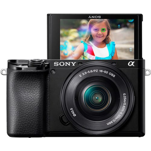 Sony a6100 Mirrorless Digital Camera with 16-50mm Lens + Acc Kit $598 + free s/h