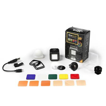 LITRA LitraTorch 2.0 Photo and Video Light + Filter Set $90 + free s./h