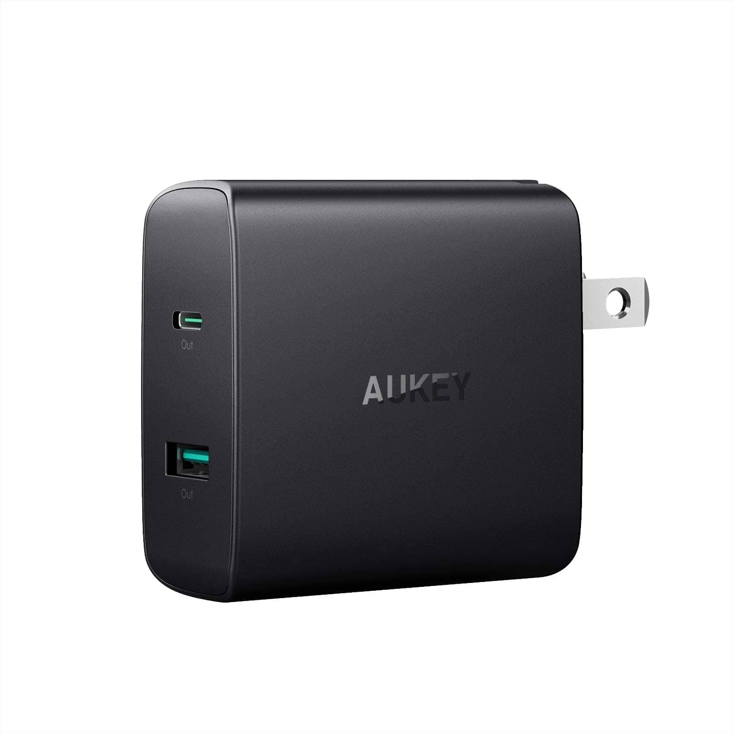 Aukey 56W Dual Port Fast Charger (46W USB C PD 3.0 + USB A) $16.80 + Free S&H