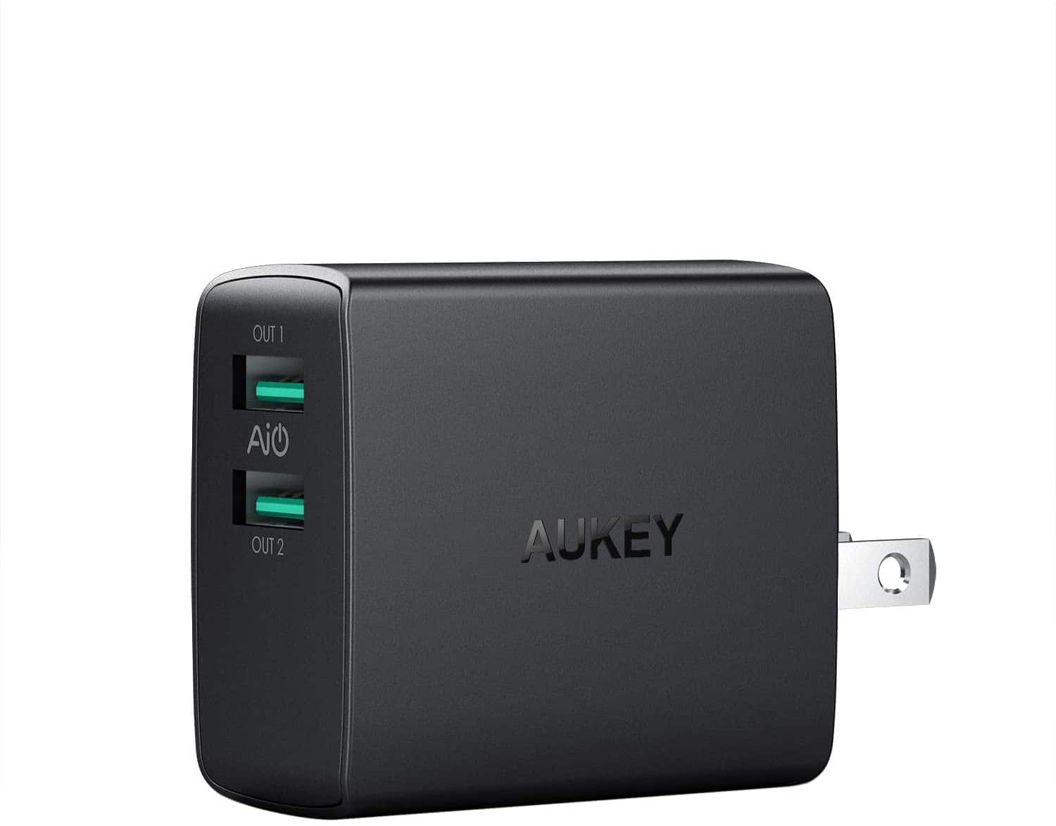 Aukey Dual Port (2.4x2) USB Wall Charger $5.60