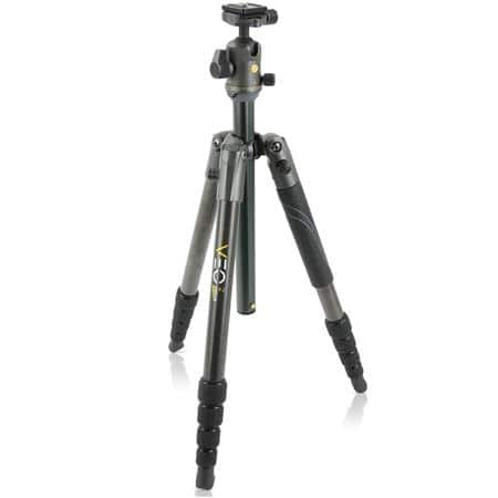 Vanguard VEO 2 265CB 5-Section Carbon Fiber Tripod with BH-50 Ball Head $130 + free s/h