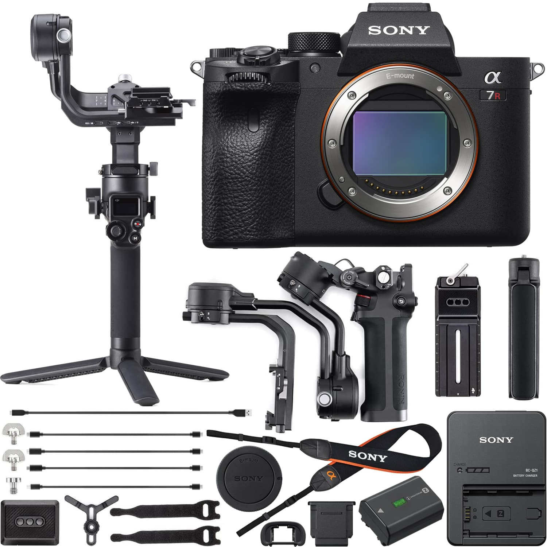 Sony a7R IV Full Frame Mirrorless Camera + DJI RSC 2 Gimbal Stabilizer $3048 + free s/h