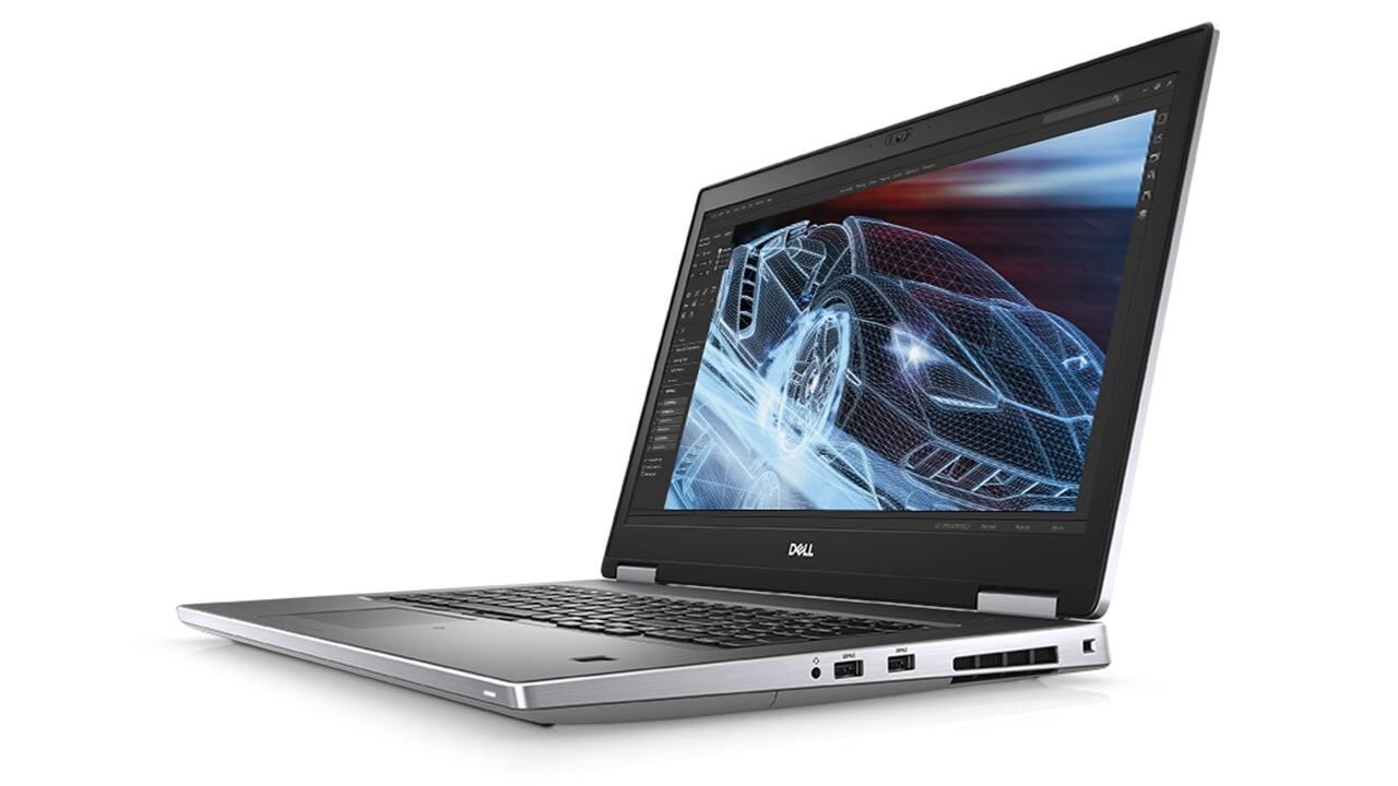 """Dell Precision 7740 Laptop: i7-9850H, Quadro RTX 3000, 17.3"""" 1080p, 8GB, 256GB SSD, $1449+ free s/h"""