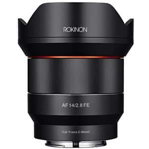 Rokinon 14mm F2.8 AF Full Frame Auto Focus Lens for Sony E Mount $499 + free s/h