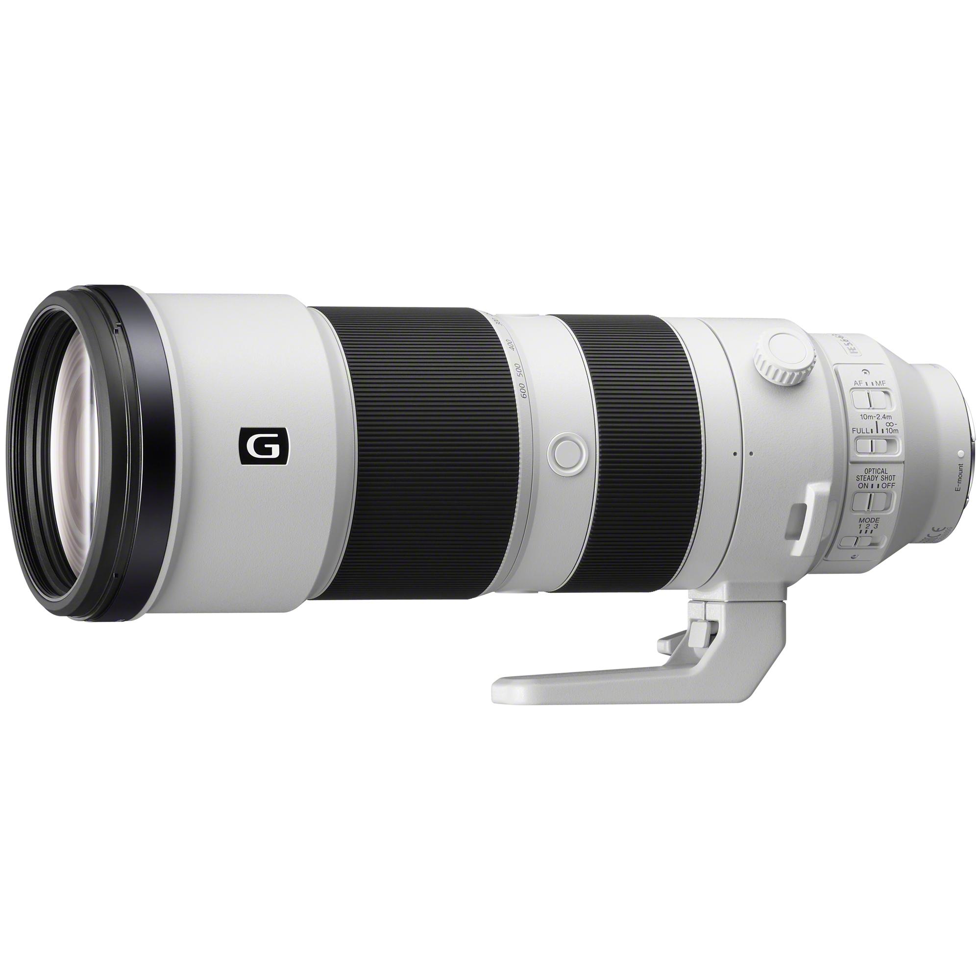 Sony Lenses: FE 200-600mm F5.6-6.3 G OSS $1498, FE 100-400mm f/4.5-5.6 GM OSS $2149, FE 20mm F1.8 G $663 & More + free s/h