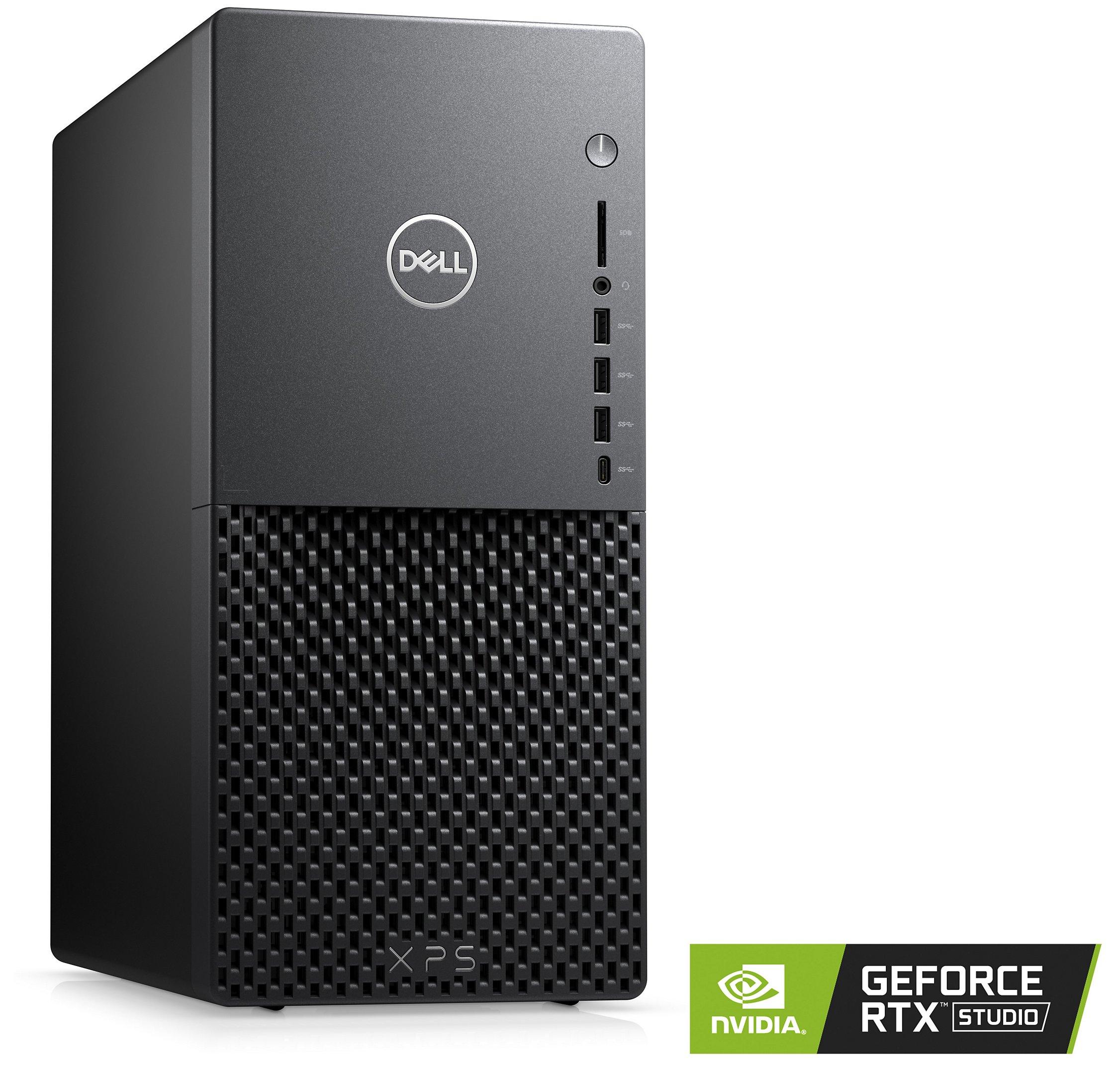 Dell XPS Desktop: i7-10700, RTX 2060 SUPER, 256GB SSD + 2TB HDD, 16GB RAM, Win 10 Pro - $1,049 + free s/h