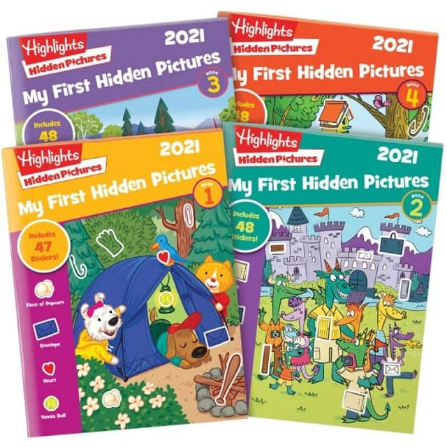 Highlights 2021 Puzzles 4-Book Set $16.25 each + free s/h
