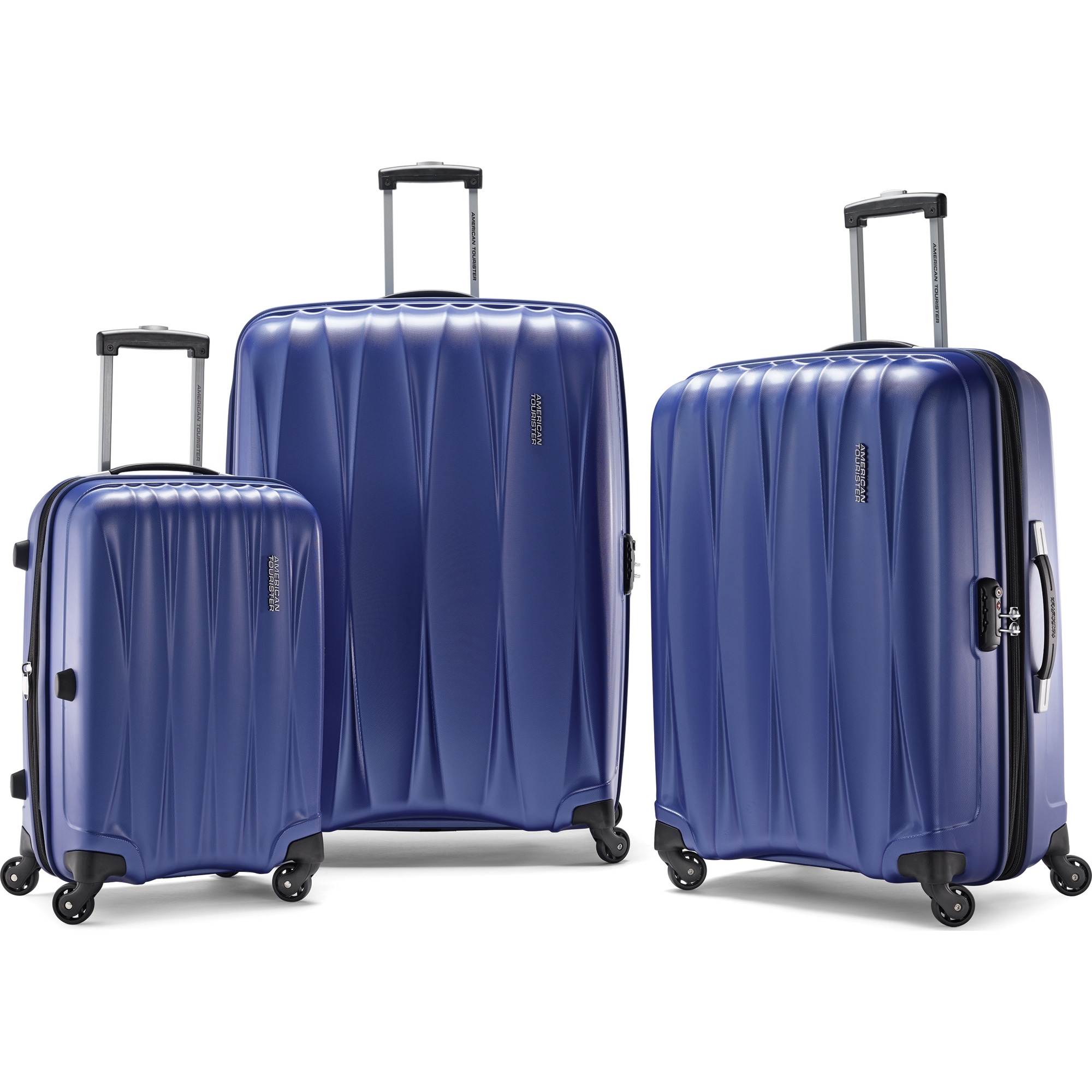 3-Piece American Tourister Arona Hardside Spinner Luggage Set $149 (or less w/ SD Cashback) + free s/h @ Buydig