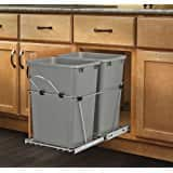 Price Mistake? Rev-A-Shelf - 53WC-1835SCDM-212 - Double 35 Qt. Pull-Out Champagne Waste Container with Soft-Close Slides $29.99