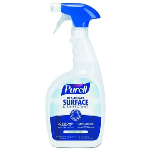 12 Pack PURELL Healthcare Surface Disinfectant Spray 32 oz $22.99
