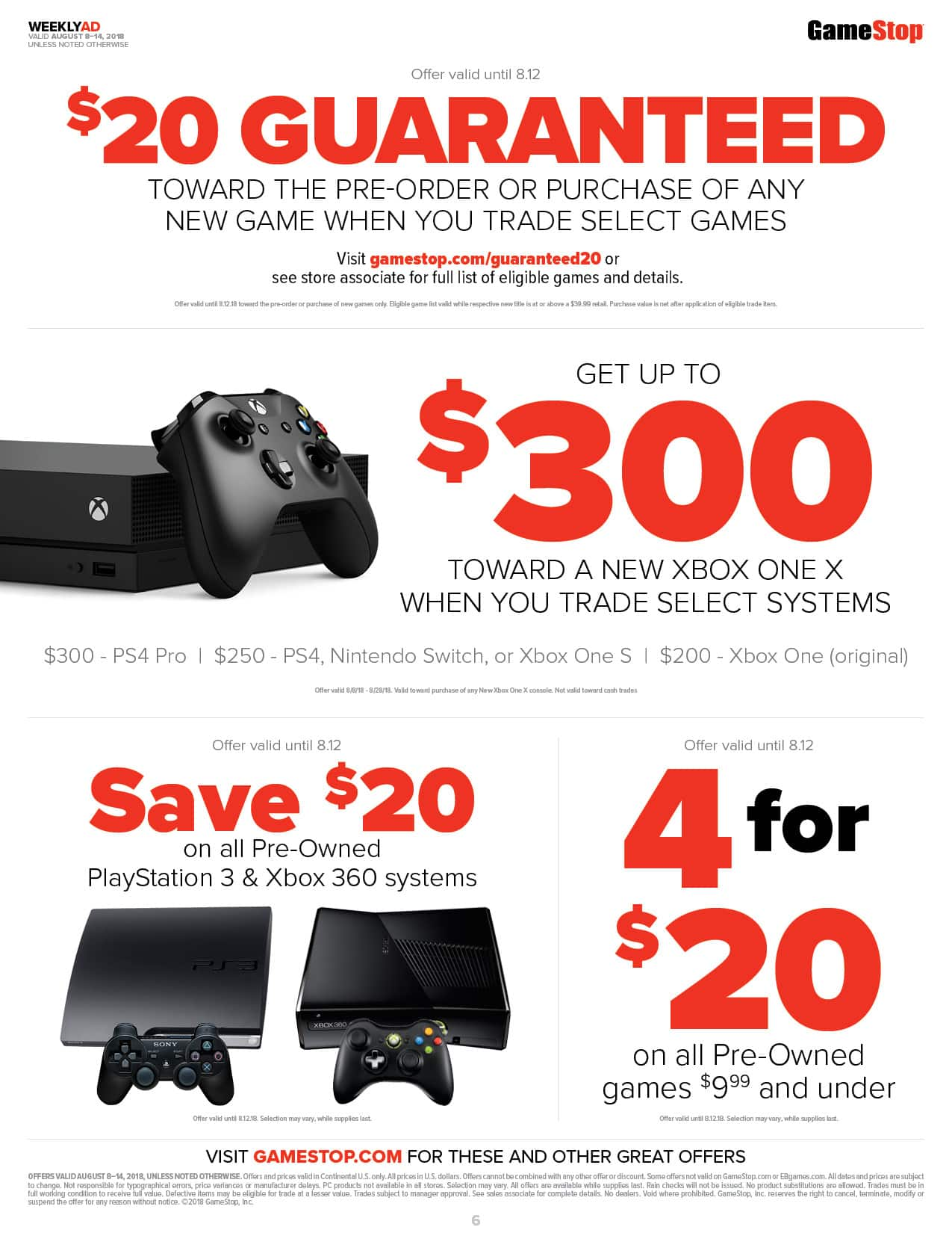 microsoft store xbox trade in offer