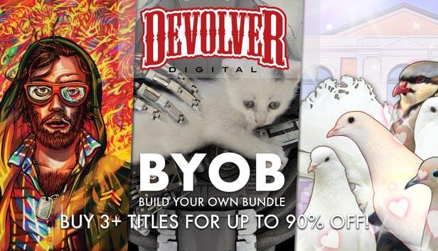 Humble Bundle PCDD: Devolver Build-Your-Own-Bundle: The Talos Principle, Shadow Warrior, Shadow Warrior 2 up to 90% off