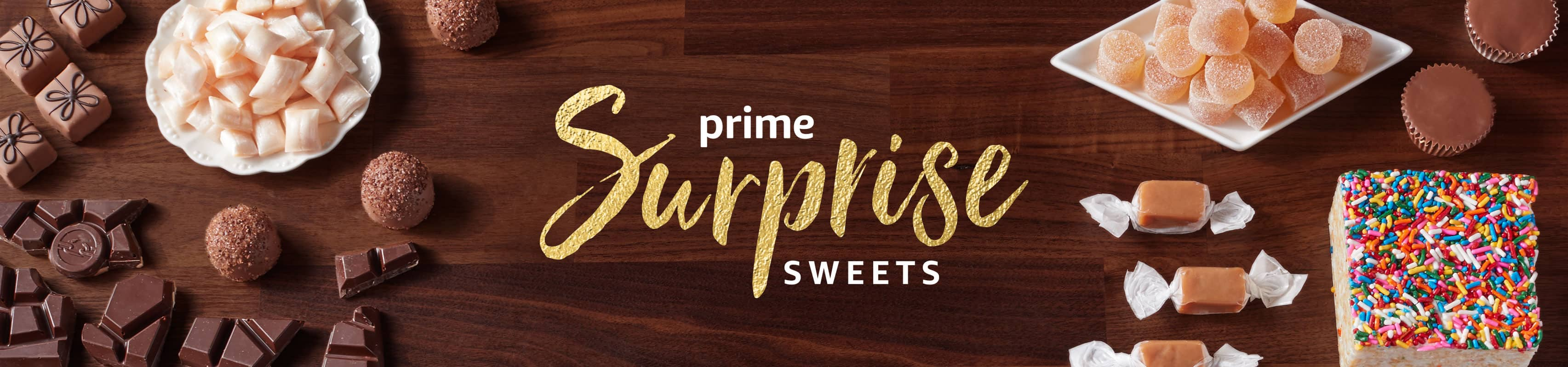 Prime Surprise Sweets Dash Button for $1 with code, YMMV