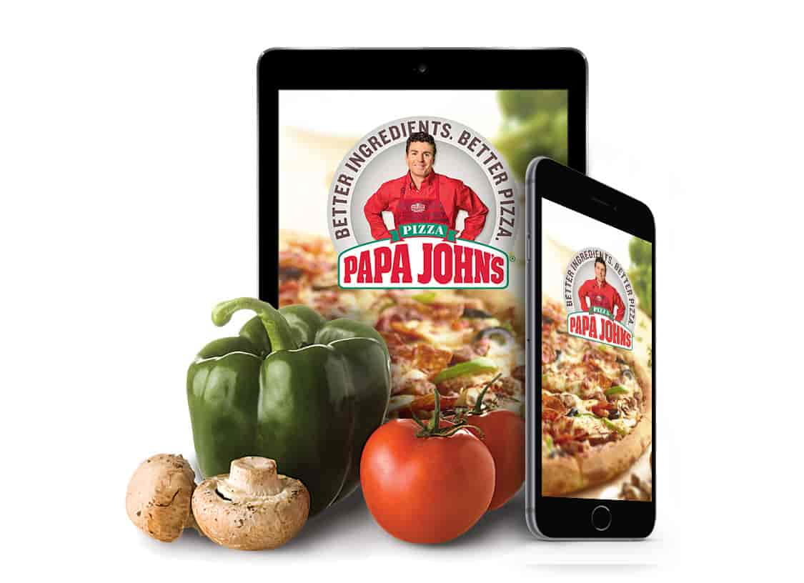 Papa John's Buy any pizza at regular menu price and get one of equal or lesser value FREE   Offer available Online Only Exp:10/28/17!