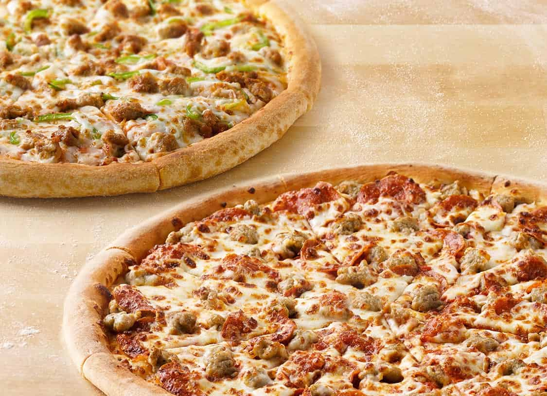 Papa John's Create Your Own Pizza Large Up to-5 Toppings Any Pan or Specialty! $9.99 Expires 11/10/2017. May be ymmv??