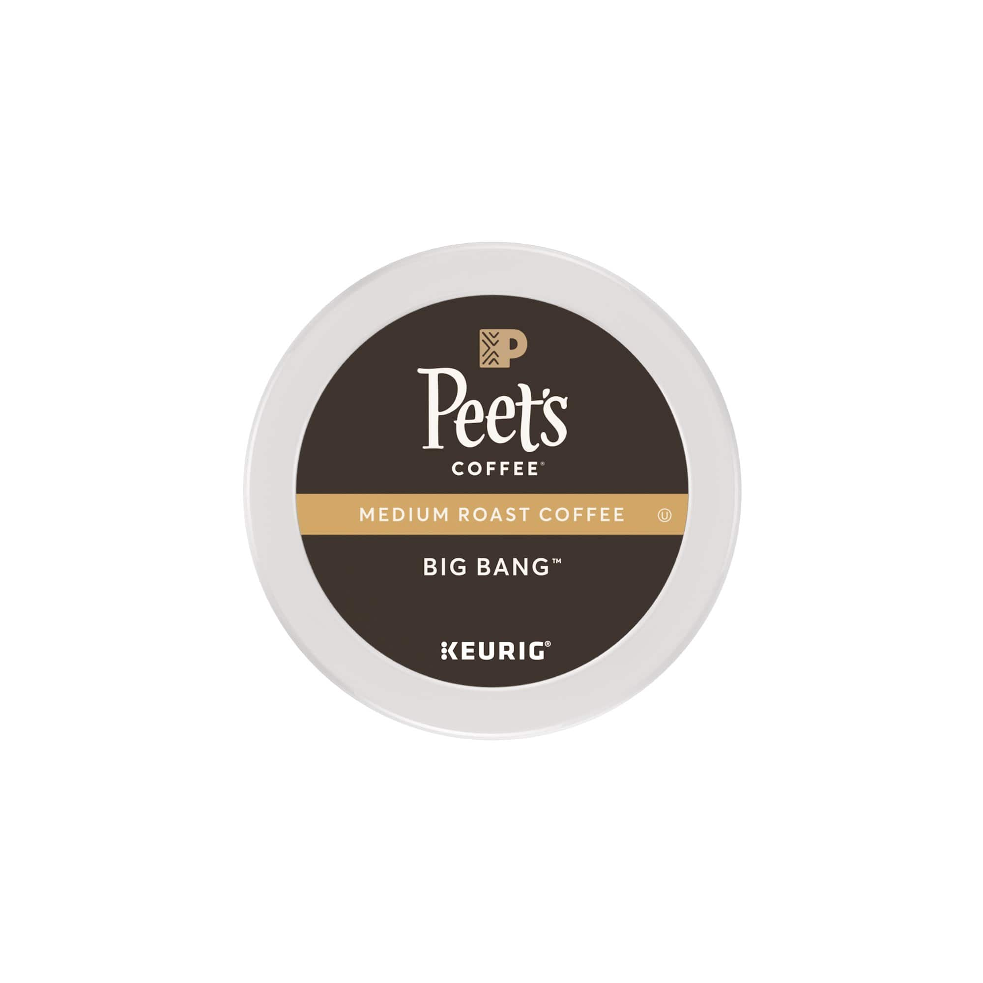 Peet's Coffee Major Dickason's Blend Dark Roast 32ct K-Cup Packs $12.75 W/S&S/5 items for 15% off.