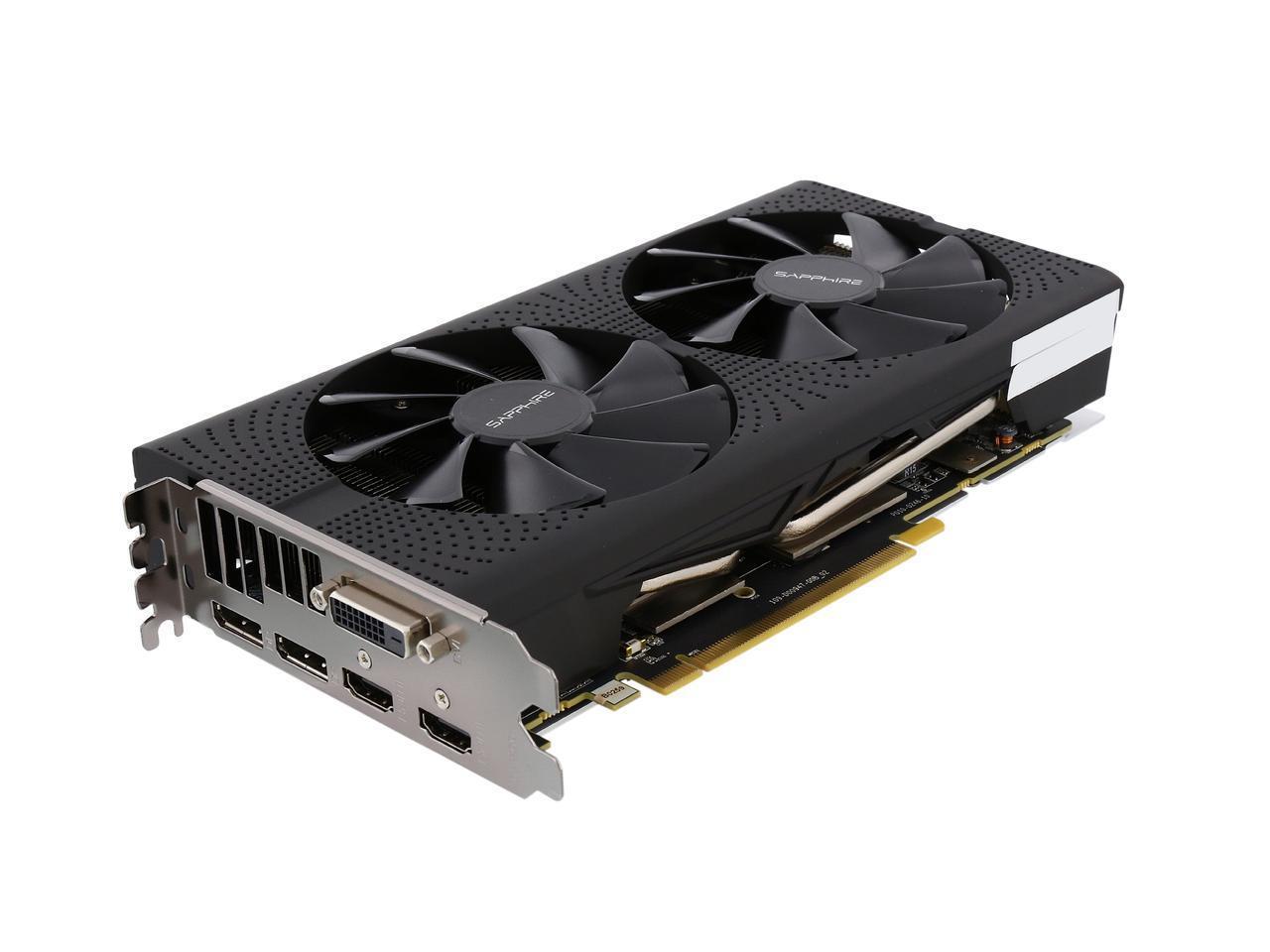 Sapphire PULSE Radeon RX 570 4GB GDDR5 PCI-E Dual HDMI / DVI-D / Dual DP OC w/ Backplate (UEFI), 100412P4GOCL - $119.99 AC/FS