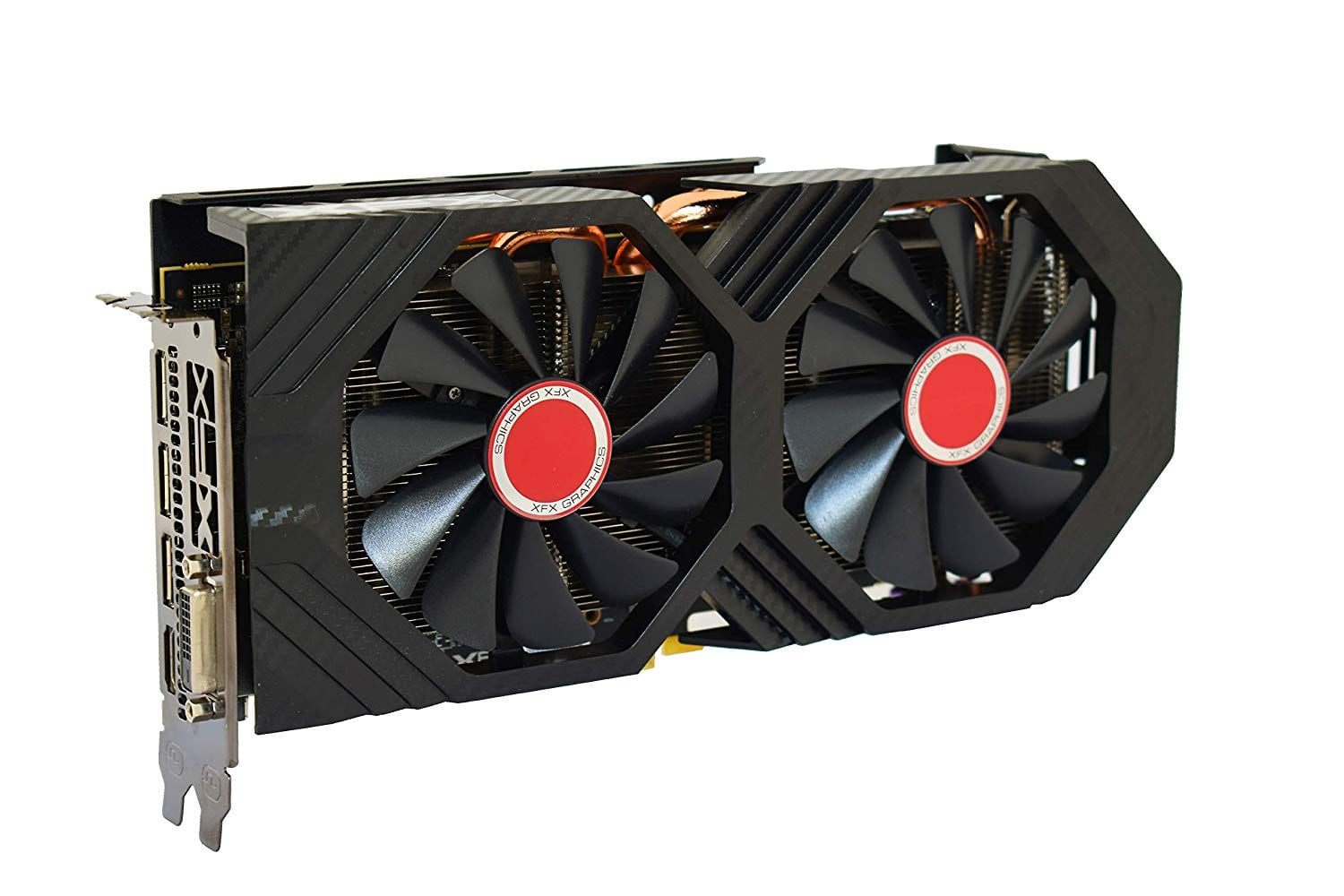 XFX RX-590 Radeon Fatboy 8GB OC+ 1580MHz DDR5 Graphic Cards - $179.99 FS