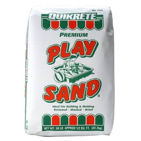 QUIKRETE 50 lbs Play Sand $2.25 with you buy 10  @ Lowes