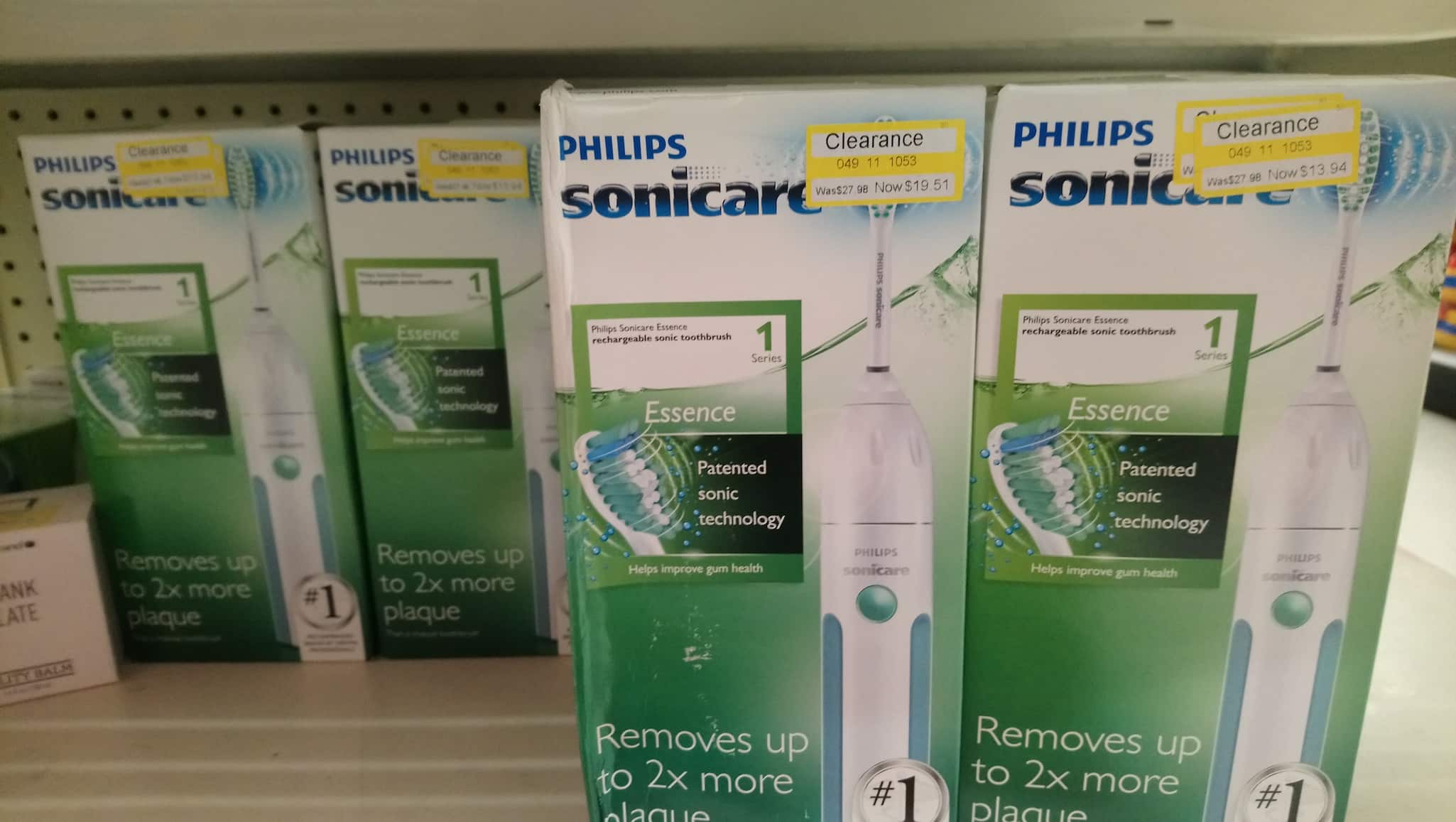 Philips Sonicare™ Essence Rechargeable Electric Toothbrush - $13.94 @ Target B&M YMMV