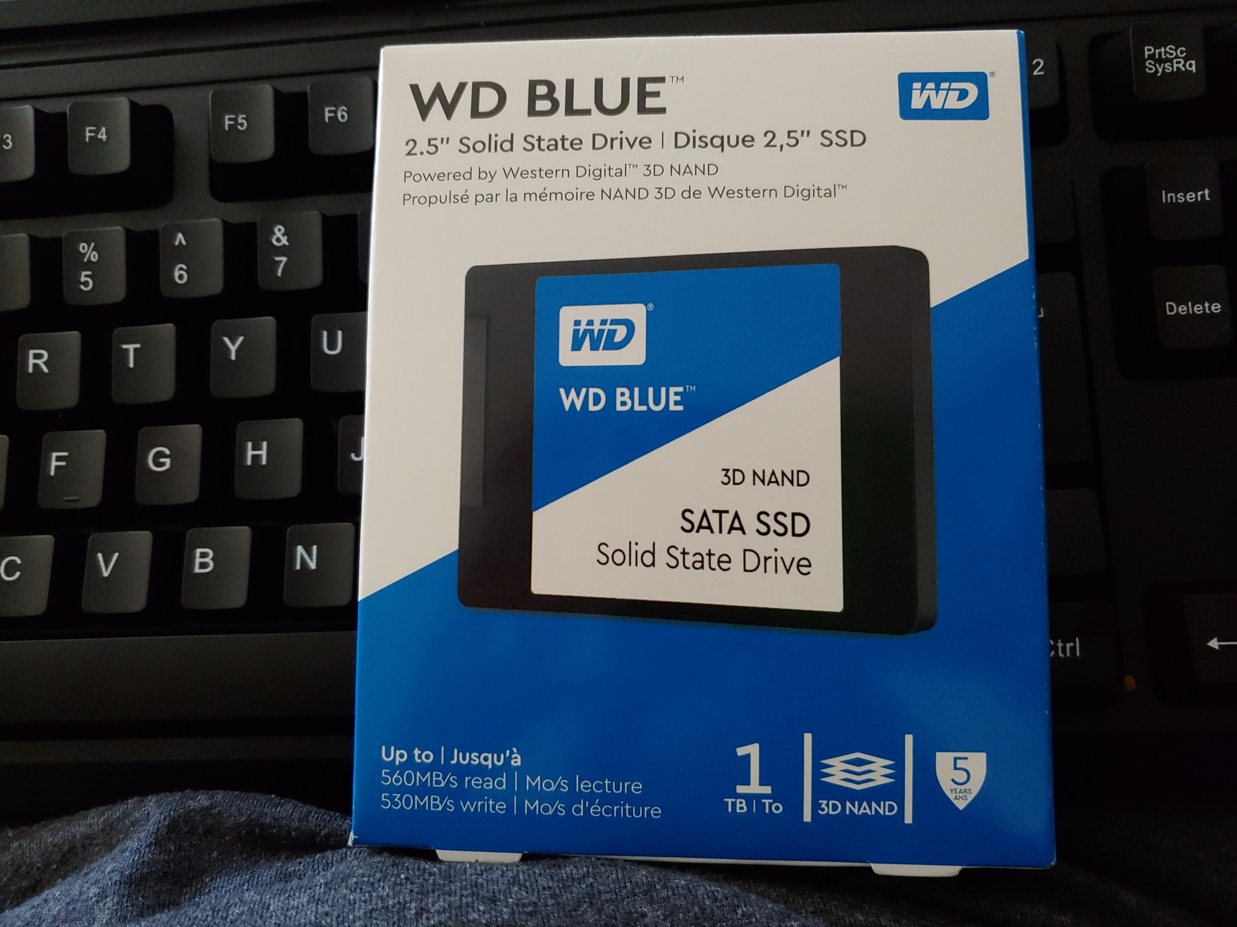 WD Blue 2.5-Inch 3D NAND SATA SSD 1TB  B&M YMMV $109
